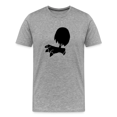 chicken leg single cartoon T-Shirts