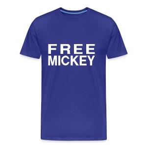 FREE MICKEY - Men's Premium T-Shirt