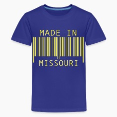 Royal blue Made in Missouri Kids' Shirts