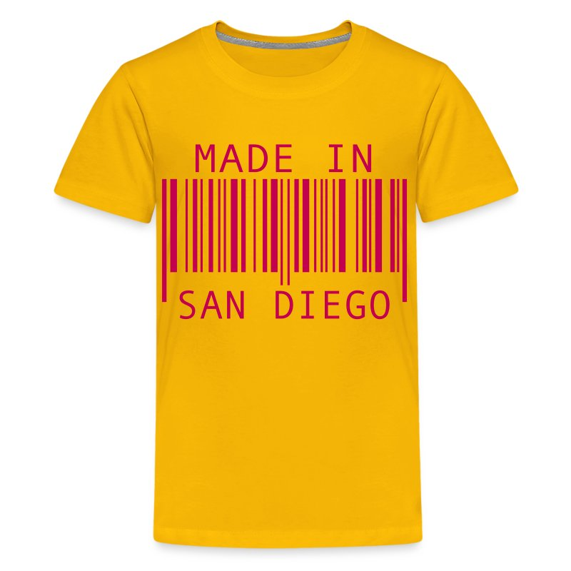 Made In San Diego T Shirt Spreadshirt