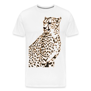 Faster than a Cheetah's Stare - Men's Premium T-Shirt