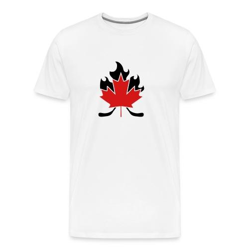 Dwain's first test shirt - Men's Premium T-Shirt