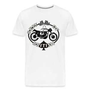Best of British - Manx Norton - Men's Premium T-Shirt