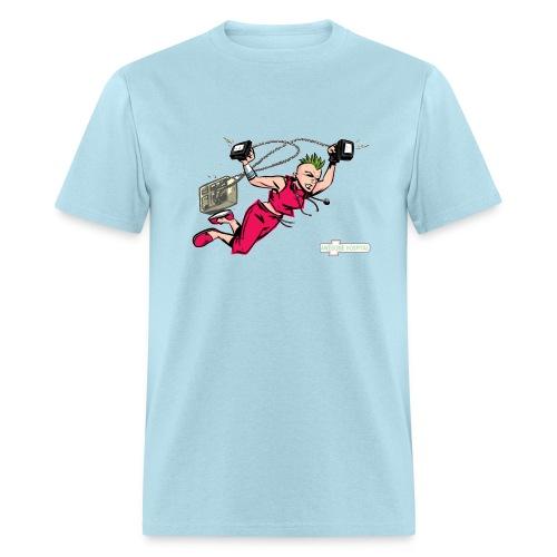 Nurse Punk Rock T-Shirt - Men's T-Shirt