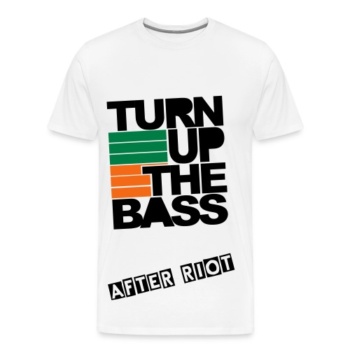 After Riot - Turn Up The Bass - Men's Premium T-Shirt
