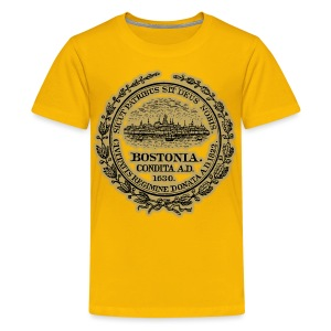 Boston City Seal Kid's T-Shirt - Kids' Premium T-Shirt