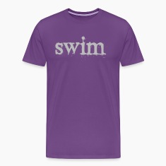 Purple swim T-Shirts