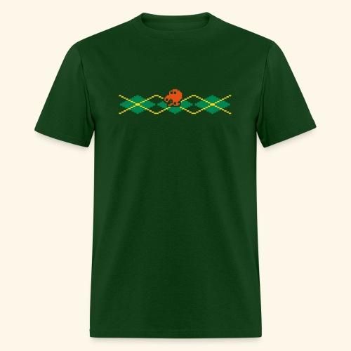 Q*Plaid - Men's T-Shirt