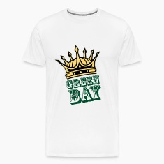 "Men's t-shirt ""Green Bay with crown"" 