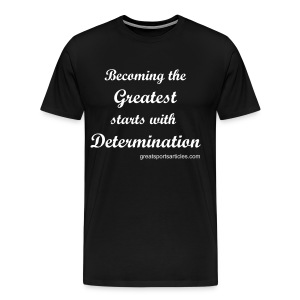 DETERMINATION - Men's Premium T-Shirt