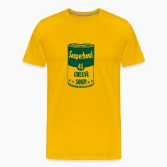 "Men's t-shirt ""Souperbowl 45 Cheese Soup"" 
