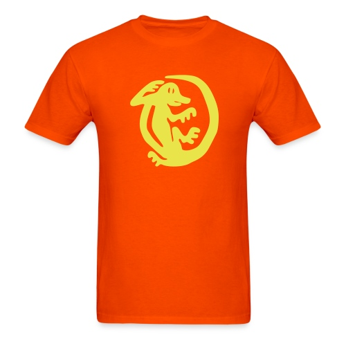 Orange Iguanas Custom Team Shirt - Men's T-Shirt