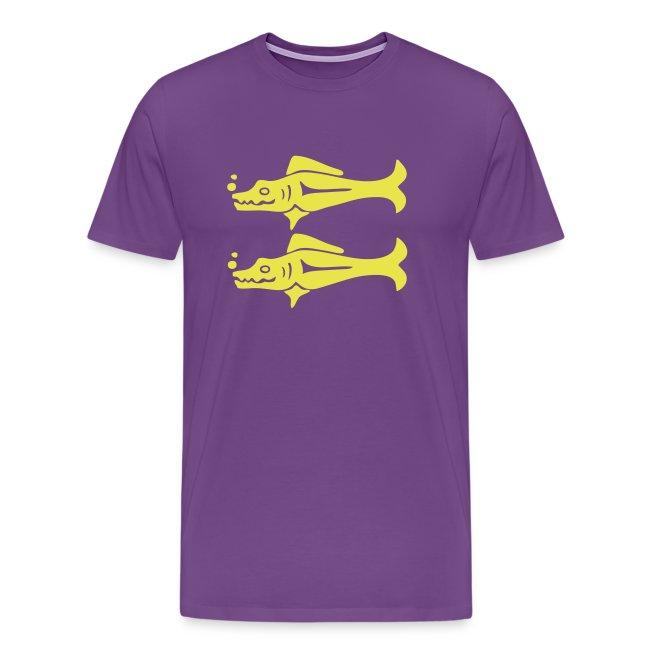 Blue Barracudas Custom Team Shirt
