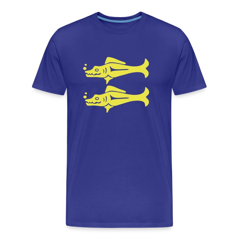 Blue Barracudas Custom Team Shirt - Men's Premium T-Shirt