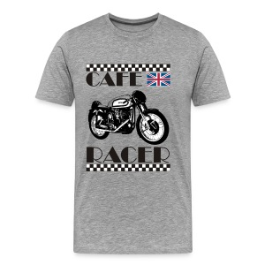 Cafe Racer T-Shirt - Men's Premium T-Shirt