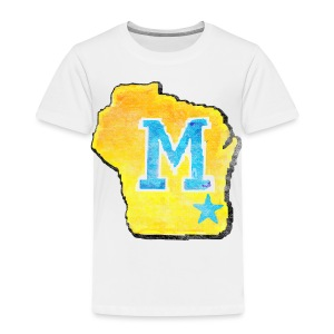 Vintage M Wisconsin - Toddler Premium T-Shirt
