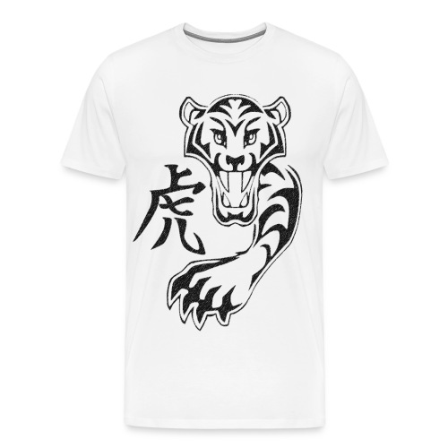 Kanji Tiger - Men's Premium T-Shirt