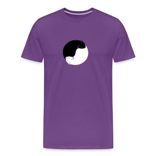 Yin Yang Cats T-Shirt - Men's Premium T-Shirt