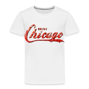 Enjoy Chicago - Toddler Premium T-Shirt