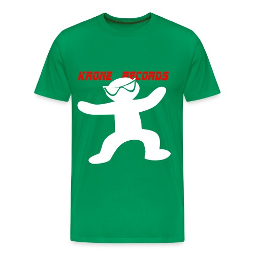 T-shirt Green To White - Men's Premium T-Shirt