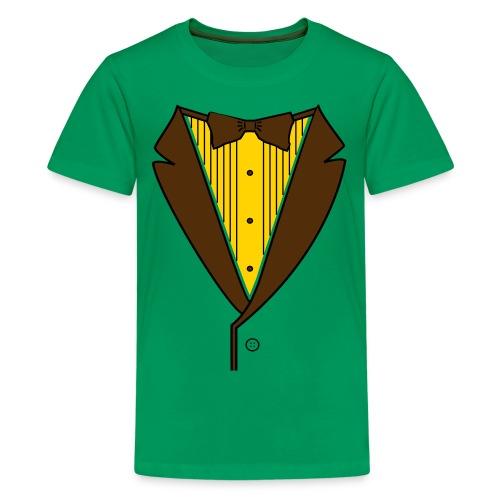Classy Kids Tuxedo - Kids' Premium T-Shirt