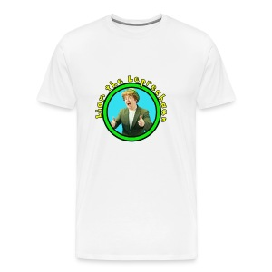 Liam the Leprechaun - Men's Tee White - Men's Premium T-Shirt
