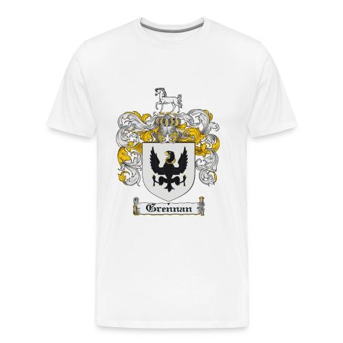 Grennan T White - Men's Premium T-Shirt