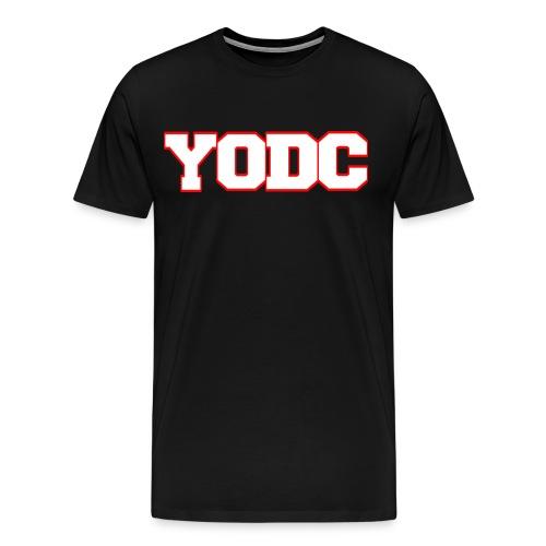 Collegiate version 2 Black - Men's Premium T-Shirt