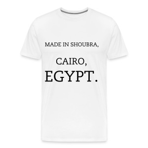 Made in Shoubra, Cairo, Egypt. - Men's Premium T-Shirt