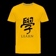 T-Shirts ~ Men's Premium T-Shirt ~ Learn - Chinese