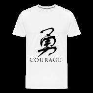 T-Shirts ~ Men's Premium T-Shirt ~ Courage - Chinese