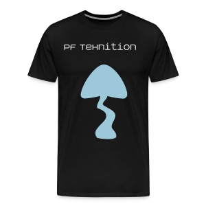 PF TeKnition Blue Shroom T-Shirt - Men's Premium T-Shirt