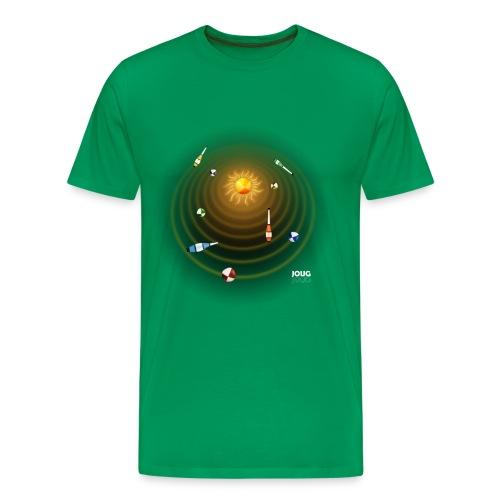 Juggle System: Black AG Style - Men's Premium T-Shirt