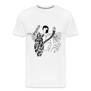 SurferBoy Skilis 1 - white T - Men's Premium T-Shirt
