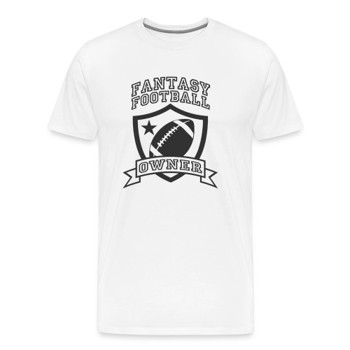 Custom Fantasy Football Owner T-shirts - Men's Premium T-Shirt