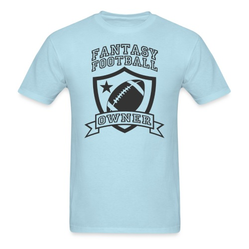Custom Fantasy Football Owner T-shirts - Men's T-Shirt