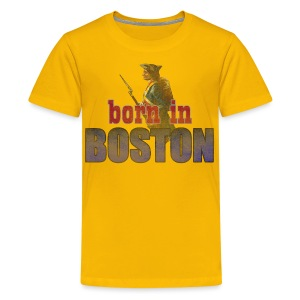 Born in Boston Children's T-Shirt - Kids' Premium T-Shirt