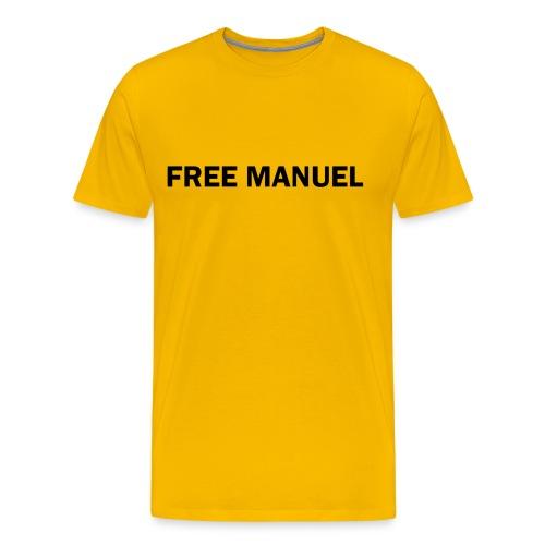 Free Manuel Shirt - Men's Premium T-Shirt
