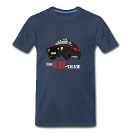 T-Shirts ~ Men's Premium T-Shirt ~ The Eh Team Men's Navy T-Shirt