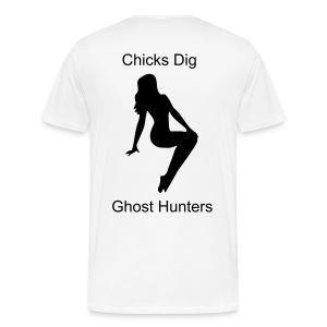 Men's Chicks Dig Ghost Hunters T - Men's Premium T-Shirt