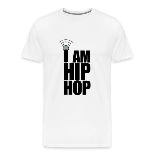 WORLD STAR BATTLE GRIND - I AM HIP HOP MENS HEAVYWEIGHT T-SHIRT - Men's Premium T-Shirt