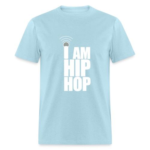 WORLD STAR BATTLE GRIND - I AM HIP HOP MENS HEAVYWEIGHT T-SHIRT - Men's T-Shirt