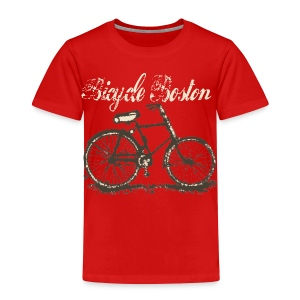 Bicycle Boston Toddler T-Shirt - Toddler Premium T-Shirt