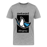 T-Shirts ~ Men's Premium T-Shirt ~ Awkward Stingray