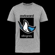 T-Shirts ~ Men's Premium T-Shirt ~ Awkward Stingray