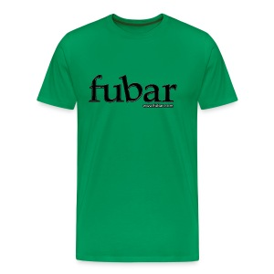 Men's Green T - fubar Recycle  - Men's Premium T-Shirt