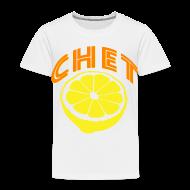 Baby & Toddler Shirts ~ Toddler Premium T-Shirt ~  Chet Toddler T-Shirt