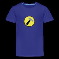 Kids' Shirts ~ Kids' Premium T-Shirt ~ CAPTAIN HAMMER Kids T-Shirt - New Metallic Hammer