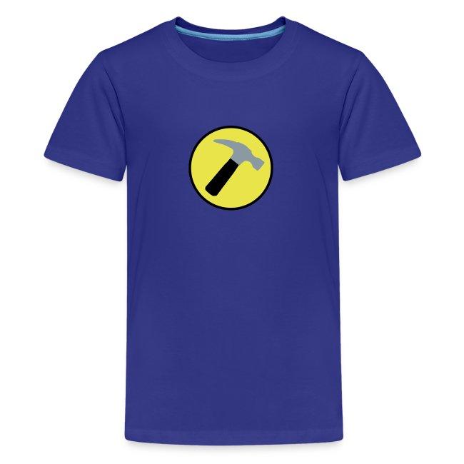 CAPTAIN HAMMER Kids T-Shirt - New Metallic Hammer