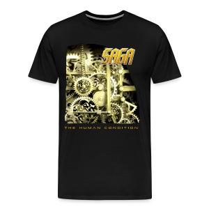 Saga Men's Gears T - Men's Premium T-Shirt